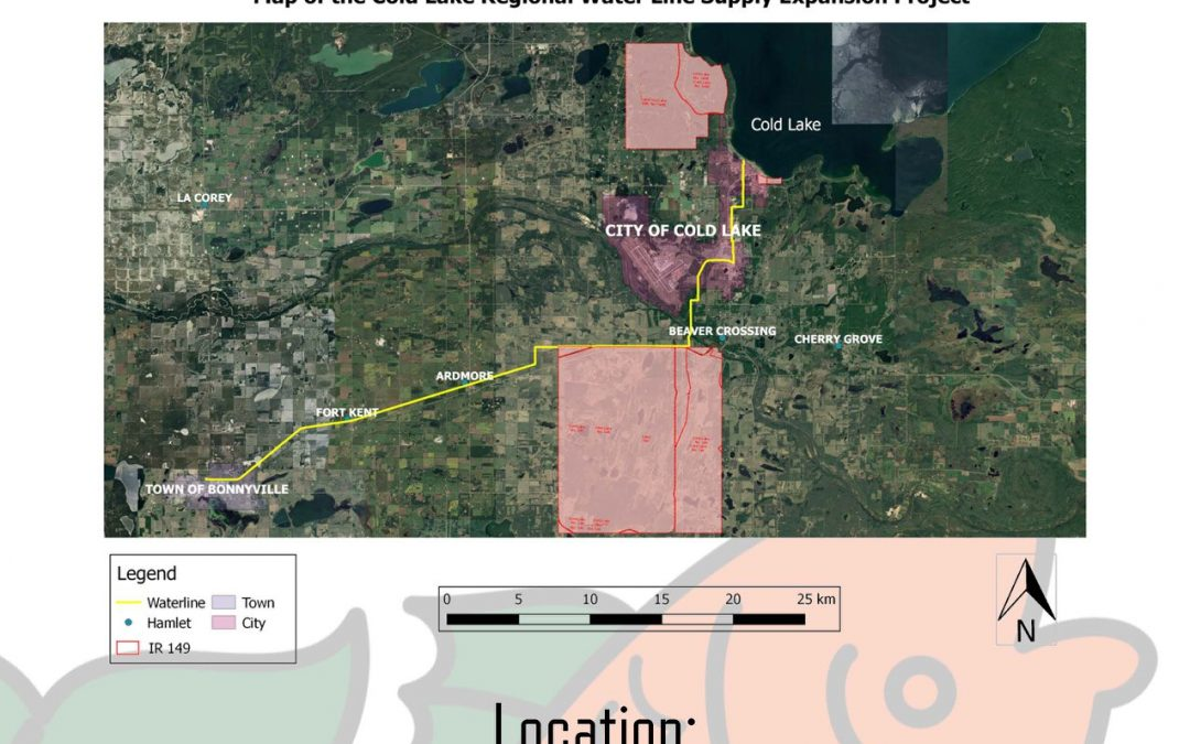 CLFN Regional Waterline Expansion Community Open House, August 15th 2018