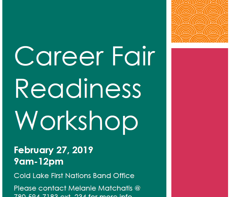 Career Fair Readiness Workshop, Feb 27 2019