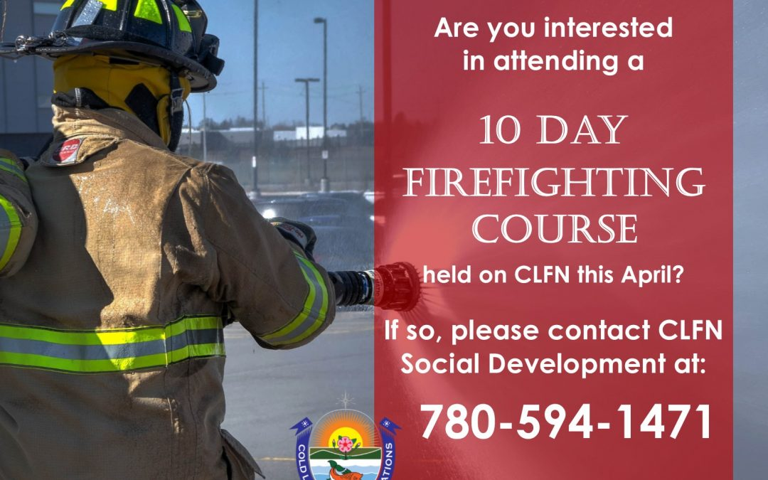 Firefighting Course, April 2019