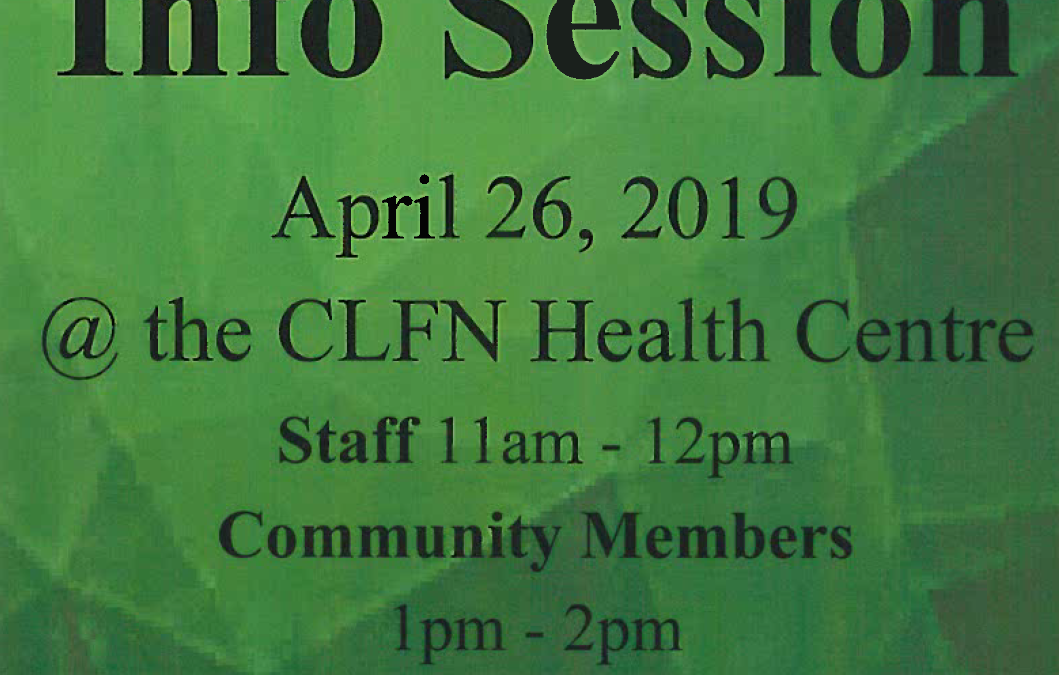 Cannabis Info Session, April 26th
