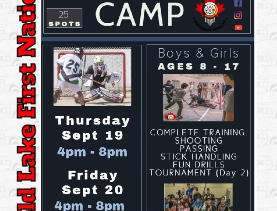 Ball Hockey Camp
